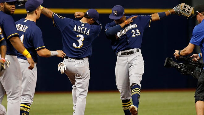 The Brewers' youthful enthusiasm, from players such as Orlando Arcia and Keon Broxton, is part of what has made the team successful this season, according to manager Craig Counsell.