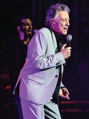 Frankie Valli performing at Englewood's bergenPAC in
