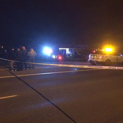 One pedestrian was killed in a hit-and-run early Tuesday