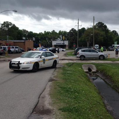 According to JSO, there was an officer-involved crash
