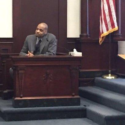 Tommy Seth Dellar, 45, testifies on his own behalf.