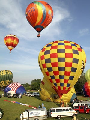 The Michigan Challenge Balloonfest takes place Friday through Sunday on the Howell High School campus.