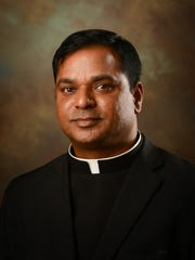 The Rev. Albeenreddy Vatti is the new priest at St. Francis of Assisi Catholic Church in Madison.