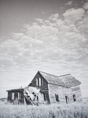 """Abandoned near Doland"" by Abby Bischoff. Bischoff talks about her photos on display Thursday, Dec. 7, at Coffea in Sioux Falls. The photos are part of Bischoff's Abandoned South Dakota project."