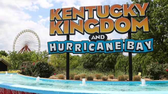Kentucky Kingdom, April 26, 2016