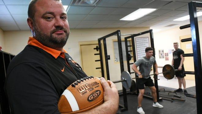 New Cocoa High football head coach Ryan Schneider.
