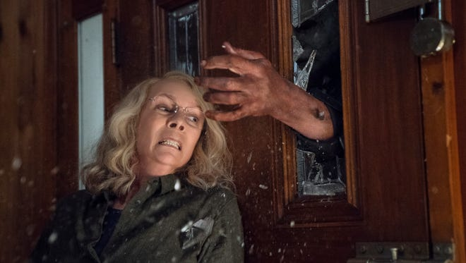 "Jamie Lee Curtis reprises her role as Laurie Strode in the new ""Halloween,"" which continues the story of Curtis' film debut 40 years ago."