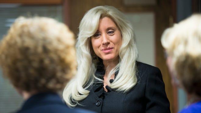 Glendale City manager Brenda Fischer.