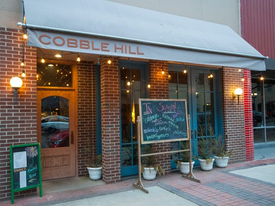 Andy Schumacher's Cobble Hill sits downtown in Cedar