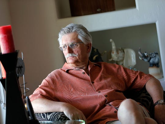 This May 20, 2014 file photo shows Fred Goldman, father