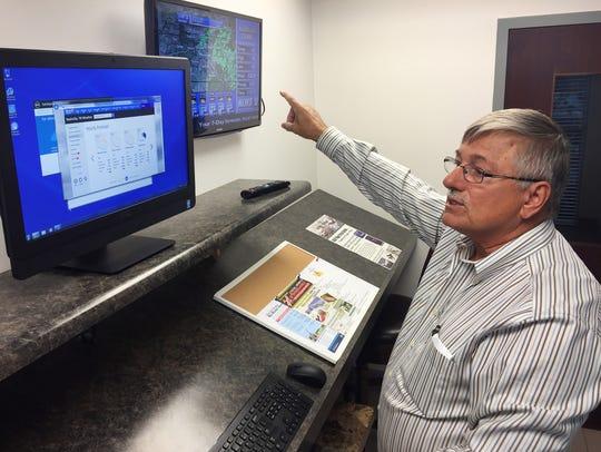 Portland Municipal Airport Director Douglas Hunter