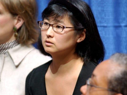 Maya Lin, designer of the Vietnam Veterans Memorial in Washington, D.C.