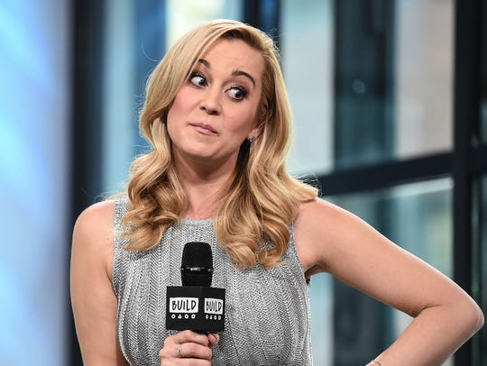 Kellie Pickler attends the Build Series to discuss