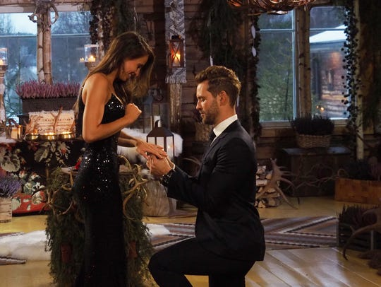 Nick Viall proposed to Vanessa Grimaldi during the