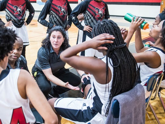 Northside coach Amy DesOrmeaux and her Lady Vikings are the No. 15 seed in the Class 4A state playoff bracket.