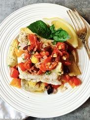 baked grouper