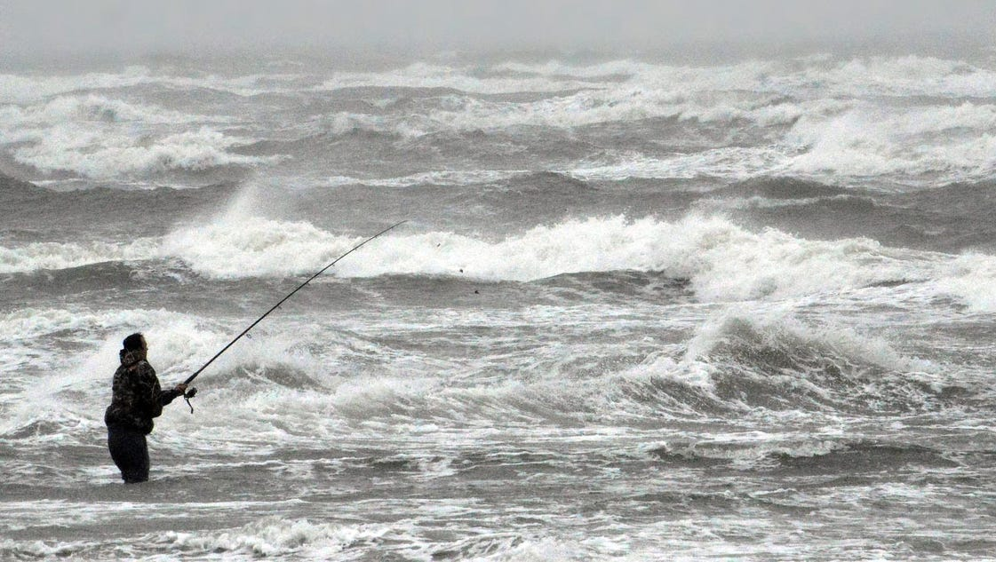 Fishing warm thoughts from the jersey shore for Nj shore fishing