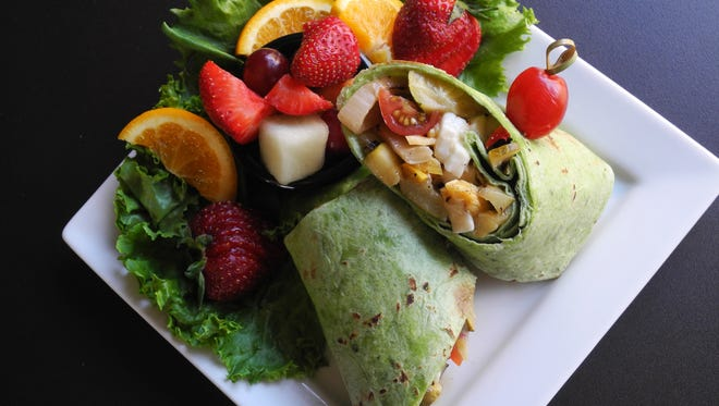 Birt's Bistro   Located at the Benevilla community, Birt's offers such specials as the fire-roasted vegetable wrap, a spinach tortilla stuffed with grilled vegetables, mozzarella cheese and roasted red pepper hummus, served with fresh fruit (8).  Details: 16752 N. Greasewood St., Surprise. 623-584-0065, benevilla.org.