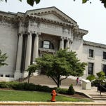 The Louisville Free Public Library, 301 York Street 07.18.08 (By Kylene Lloyd, The Courier-Journal)