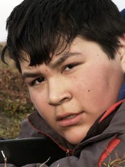 """A scene from """"Children of the Arctic,"""" nominated for"""