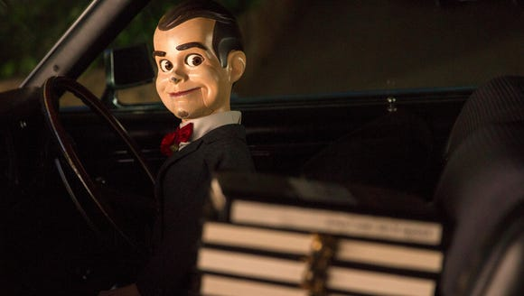 Slappy (voiced by Jack Black) is the head villain who