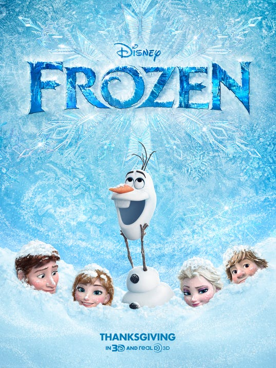 Exclusive: 'Frozen' poster shows winter tale