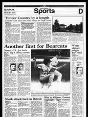 BC Sports History - week of May 21, 1995