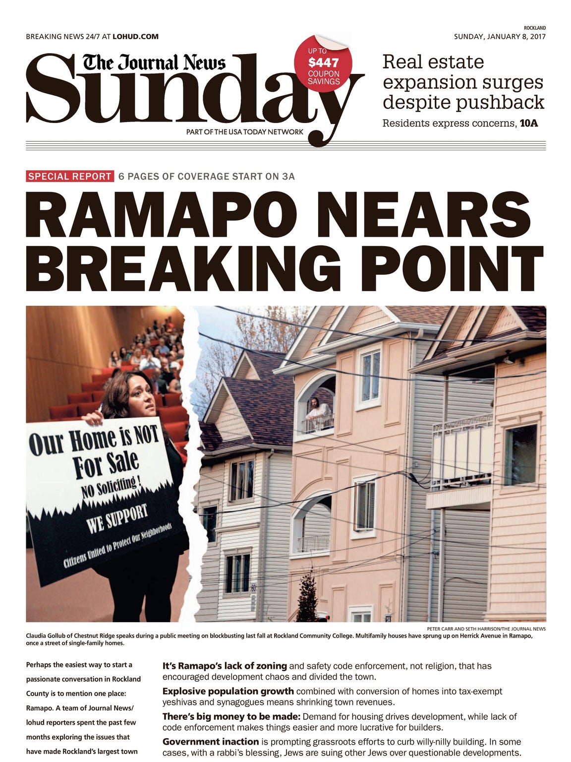 Jan. 8 Rockland edition of the Journal News