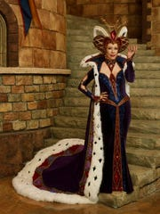 Bob Mackie designed Carol Burnett's Queen Aggravain costume for 'Once Upon a Mattress.'