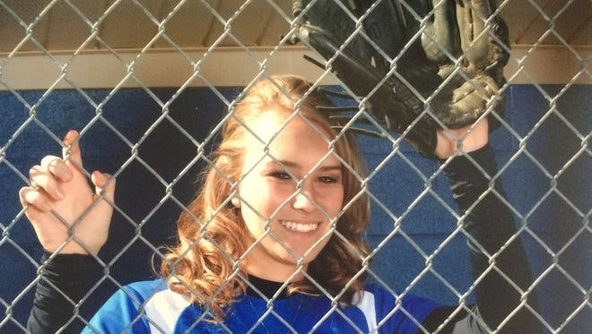 McDowell's Karly McRary has committed to play college softball for Lees-McRae.