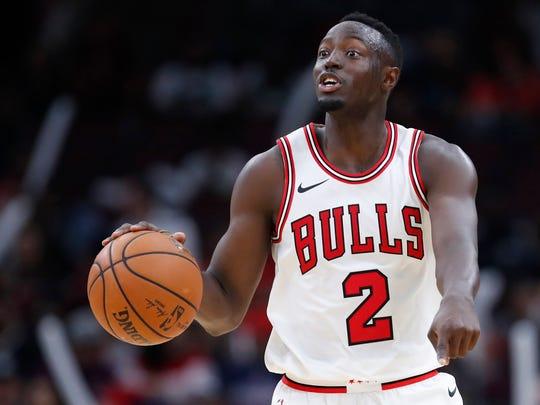 Chicago Bulls guard Jerian Grant (2)