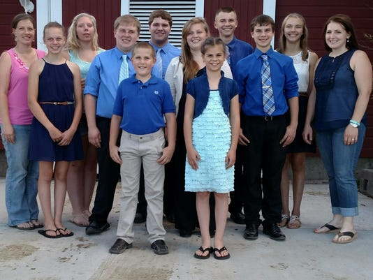 2015 Dodge County Dairy Judging Team State Results