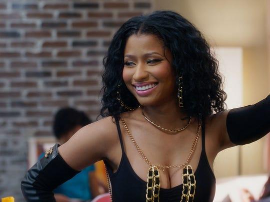 "Nicki Minaj joins the cast in the latest ""Barbershop"""