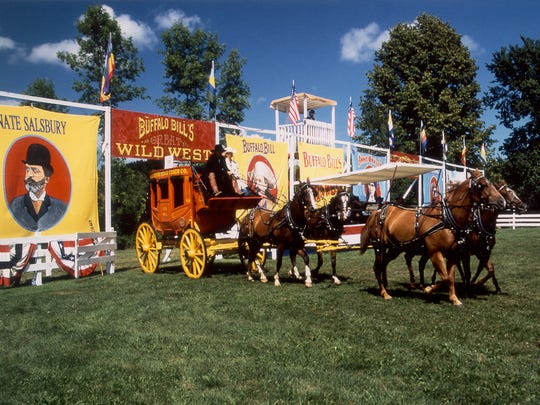The Buffalo Bill Wild West show will take place from