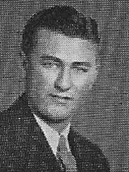 Ishmael Lawlis in his Washington High School Class