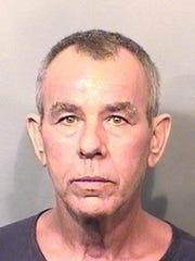 Ricky Wayne Cook's mugshot, taken December 30, 2015, when he was arrested for theft.
