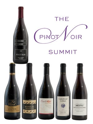 The Pinot Noir Summit July 24-25 at the Atlantis features tasting of about 70 of the country's top pinots noirs.