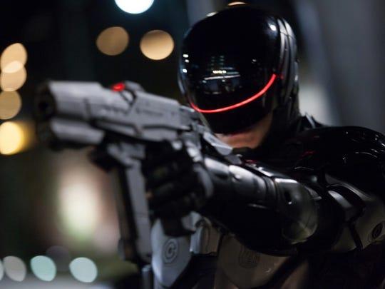 Joel Kinnaman played Robocop in 2014.
