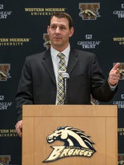 Western Michigan University new head coach Tim Lester.