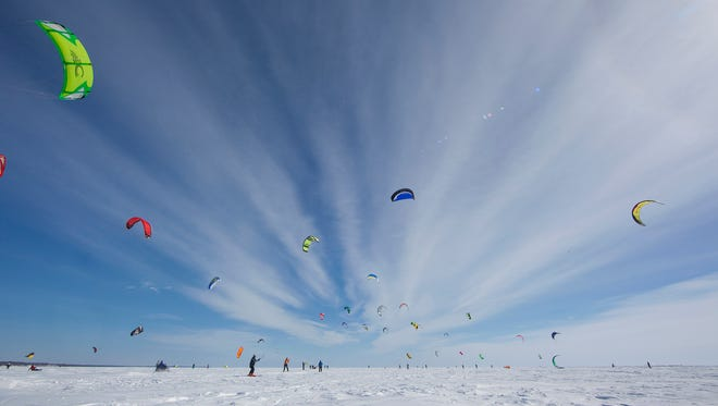 Organizers expect as many as 100 competitors to turn out for the 12th annual Kite Crossing this weekend near Garrison.
