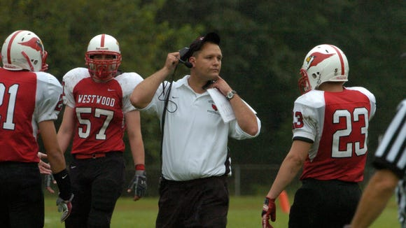 Vito Campanile, pictured here in 2009 at Westwood, will become the next head coach at Bergen Catholic.