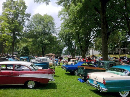 The 14th annual Car Show and Cruise-In Concert will take place in the Womelsdorf Town Park, High and Water streets. From 2 to 5 p.m. Sunday. Submitted