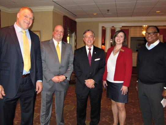 Candidates Glenn Jacobs, Brad Anders and Bob Thomas