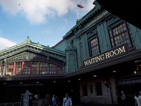 Hoboken Terminal on Wednesday.