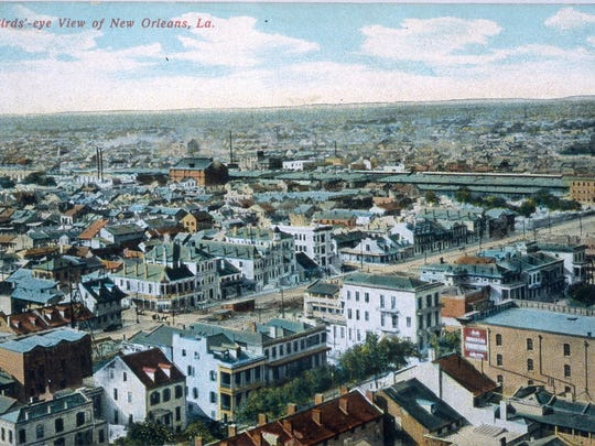 Postcard showing view of Storyville; New Orleans: C. B. Mason, [1904–8]; The Historic New Orleans Collection, 1979.362.16