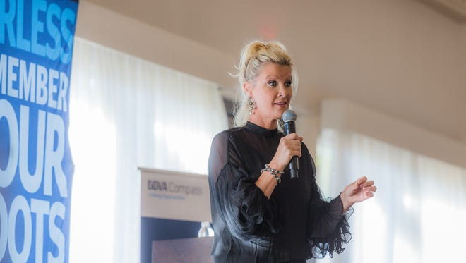 Author and TV personality Sandra Lee spoke recently in the Phoenix area on entrepreneurship.
