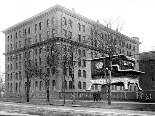 Detroit Was Once The Stove Capital Of The World