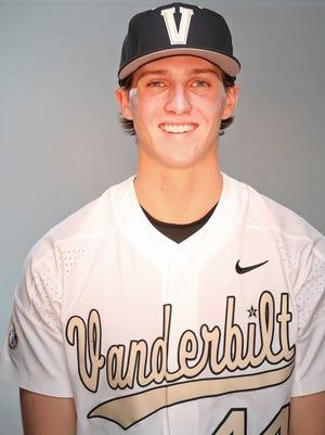 Vanderbilt baseball's Kyle Wright in 2017.