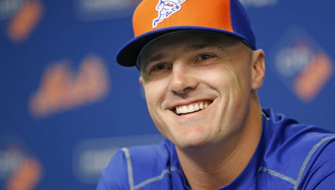 Jay Bruce could be in right fielder for the opener against the Phillies.