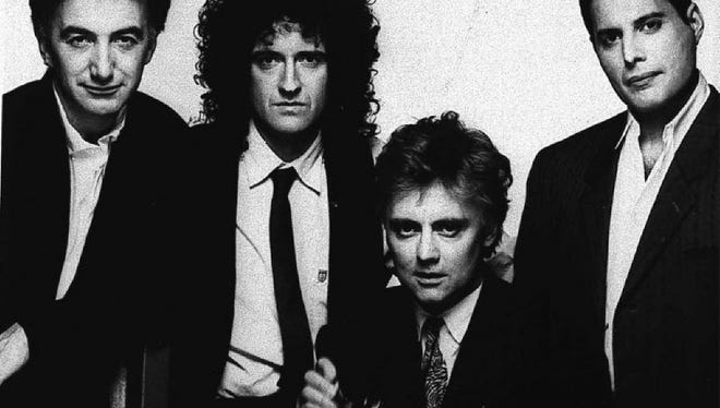 Columnist Joe Phalon thinks that Queen frontman Freddie Mercury (far right) should be honored on his birthday.
